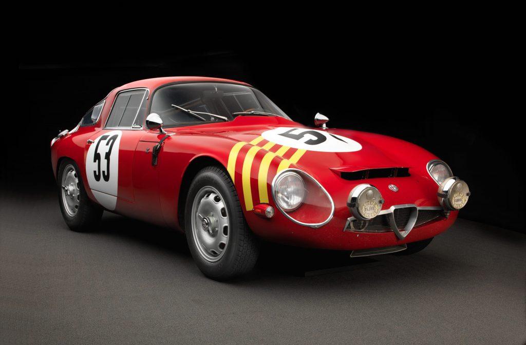 1964 Alfa Romeo Giulia TZ- V4 175bhp @6500 rpm