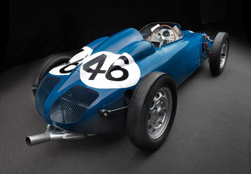 1958 Porsche Behra V4 150hp @8200 rpm