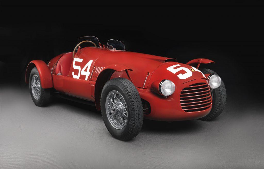 1948 Ferrari 166 Spider Corsa V12 130Hp @7000 rpm