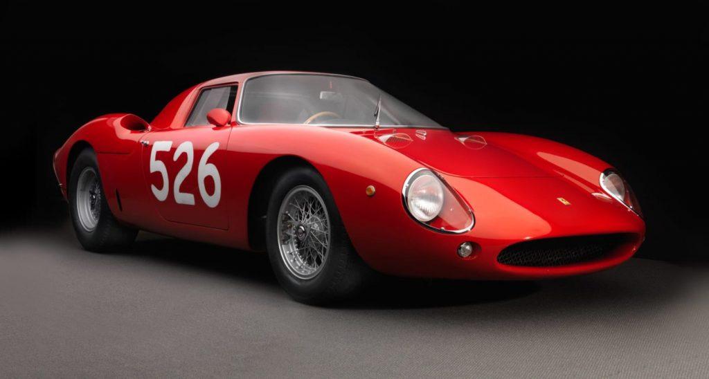 1965 Ferrari Berlinetta GT V12 320hp@7500 rpm