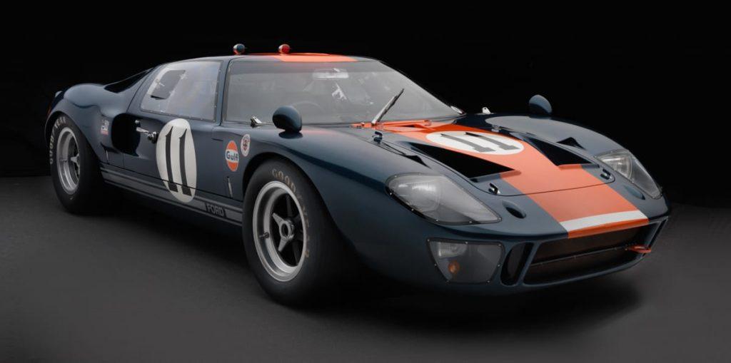 1966 Ford GT40 MKI V8 390hp @7000 rpm